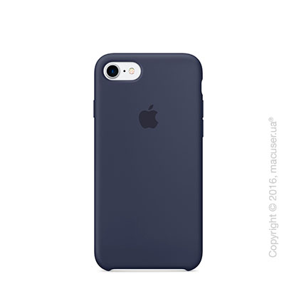 Чехол Apple iPhone 7 Silicone Case, Midnight Blue