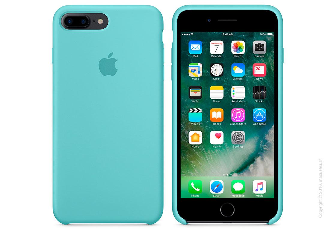 Чехол Apple iPhone 7 Plus/8 Plus Silicone Case, Sea Blue