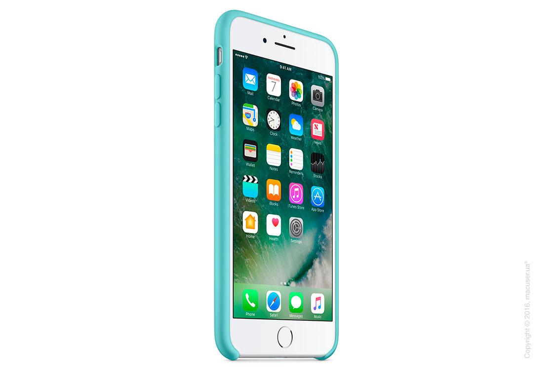 Чехол Apple iPhone 8 Plus/7 Plus Silicone Case, Sea Blue