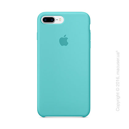 Чехол Apple iPhone 8 Plus/7 Plus Silicone Case, Sea Blue