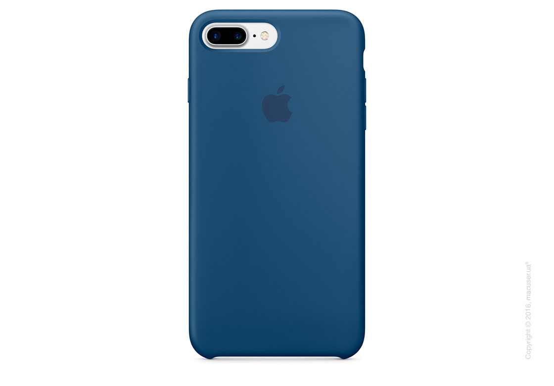 Чехол Apple iPhone 8 Plus/7 Plus Silicone Case, Ocean Blue