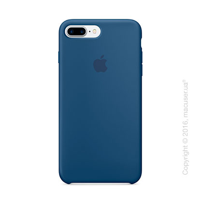 Чехол Apple iPhone 7 Plus/8 Plus Silicone Case, Ocean Blue