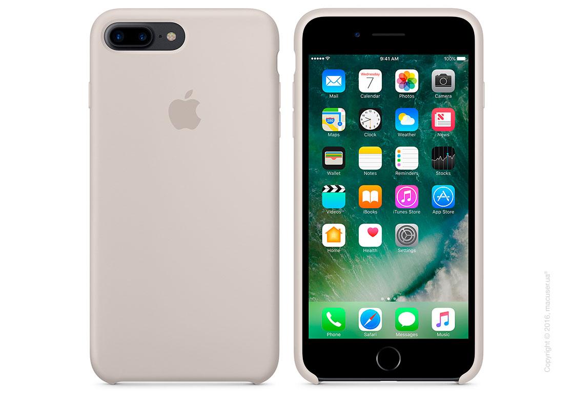 Чехол Apple iPhone 8 Plus/7 Plus Silicone Case, Stone