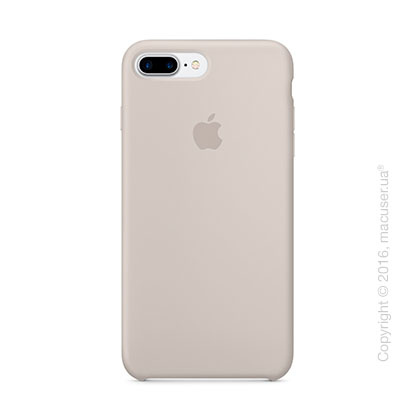 Чехол Apple iPhone 8 Plus/7 Plus Silicone Case, Stone