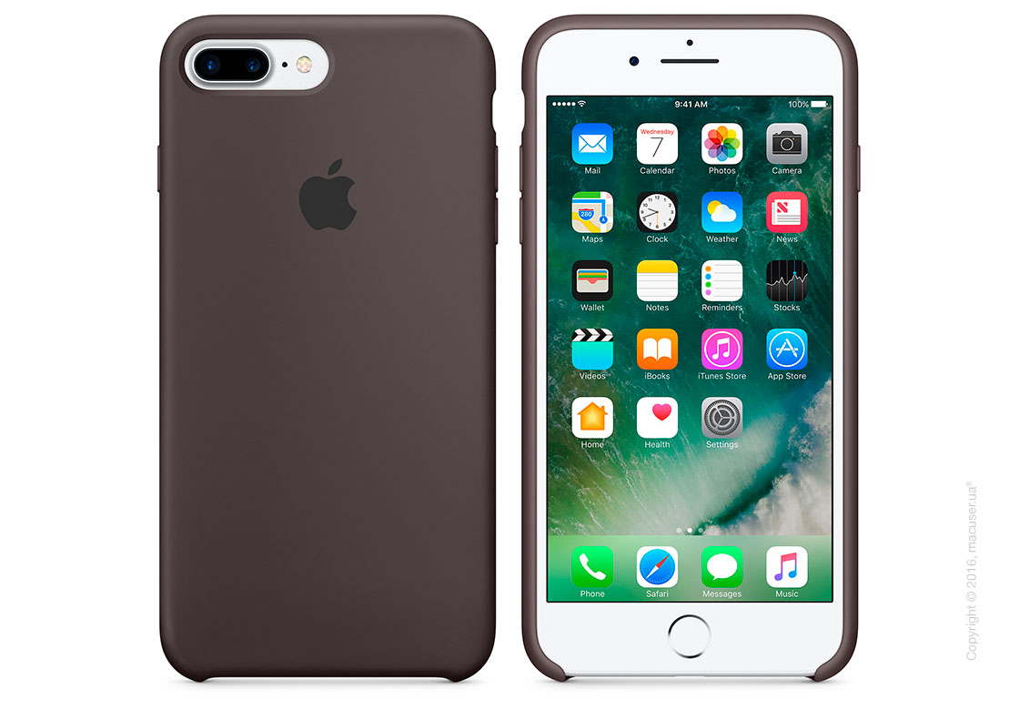 Чехол Apple iPhone 7 Plus/8 Plus Silicone Case, Cocoa