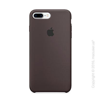 Чехол Apple iPhone 7 Plus Silicone Case, Cocoa