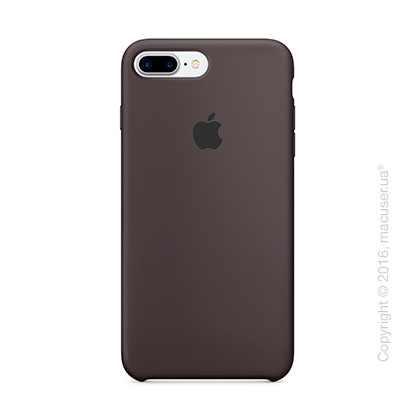 Чехол Apple iPhone 8 Plus/7 Plus Silicone Case, Cocoa