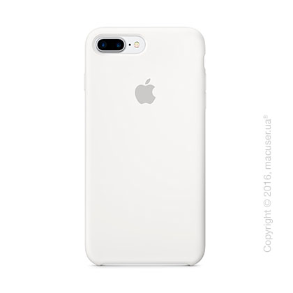 Чехол Apple iPhone 8 Plus/7 Plus Silicone Case, White