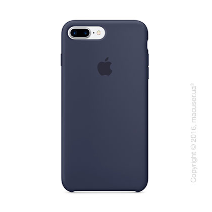 Чехол Apple iPhone 7 Plus Silicone Case, Midnight Blue