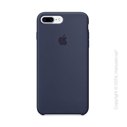 Чехол Apple iPhone 8 Plus/7 Plus Silicone Case, Midnight Blue