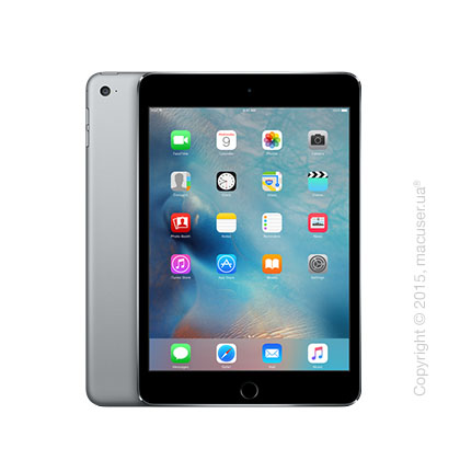 Apple iPad Mini 4 Wi-Fi+4G 64GB, Space Gray