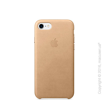 Чехол Apple iPhone 8/7 Leather Case, Tan