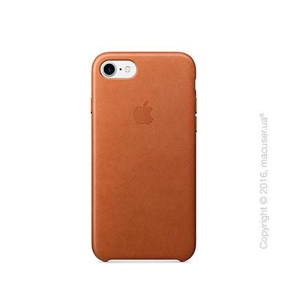 Чехол Apple iPhone 8/7 Leather Case, Saddle Brown