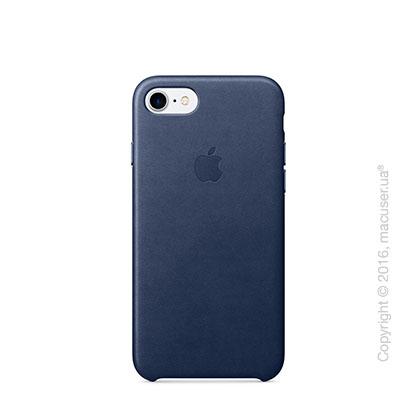 Чехол Apple iPhone 8/7 Leather Case, Midnight Blue