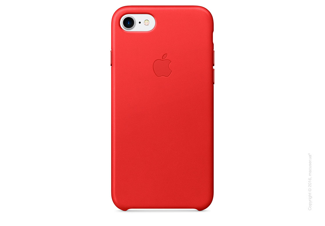 Чехол Apple iPhone 8/7 Leather Case, (PRODUCT)RED