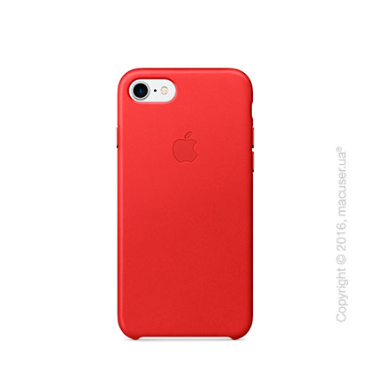 Чехол Apple iPhone 7 Leather Case, (PRODUCT)RED