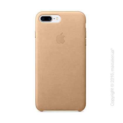 Чехол Apple iPhone 7 Plus Leather Case, Tan