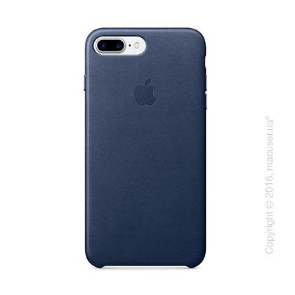 Чехол Apple iPhone 7 Plus Leather Case, Midnight Blue