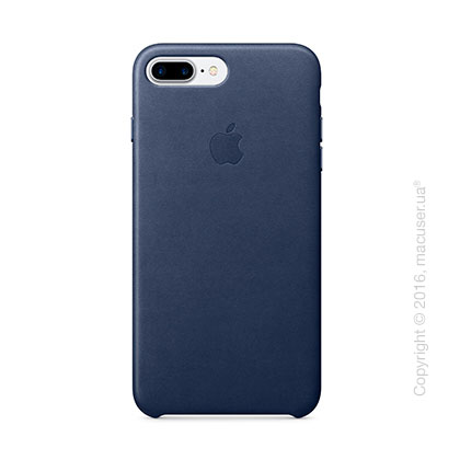 Чехол Apple iPhone 8 Plus/7 Plus Leather Case, Midnight Blue