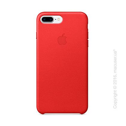 Чехол Apple iPhone 8 Plus/7 Plus Leather Case, (PRODUCT)RED