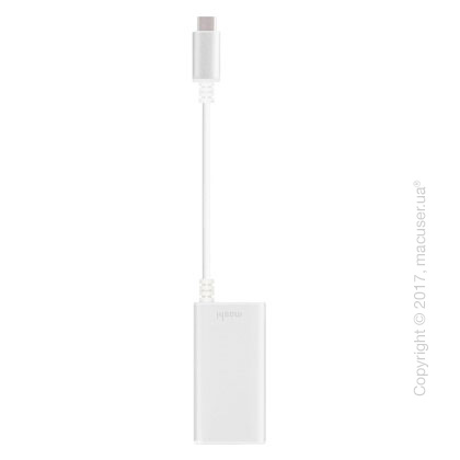 Переходник Moshi USB-C to Gigabit Ethernet Adapter