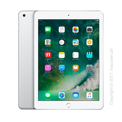 Apple iPad Wi-Fi 128GB, Silver