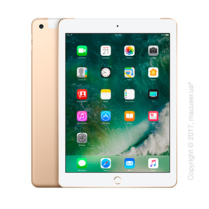 Apple iPad Wi-Fi + Cellular 32GB, Gold