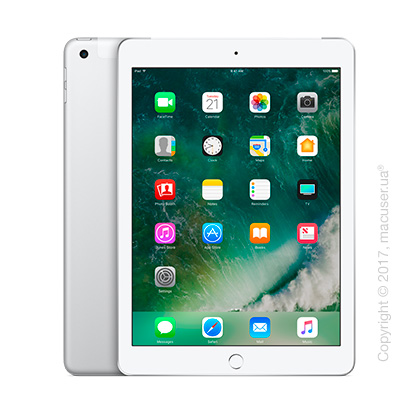 Apple iPad Wi-Fi + Cellular 128GB, Silver