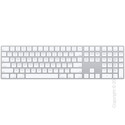 Apple Magic Keyboard with Numeric Keypad USA – Silver New