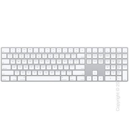 Apple Magic Keyboard with Numeric Keypad USA – Silver