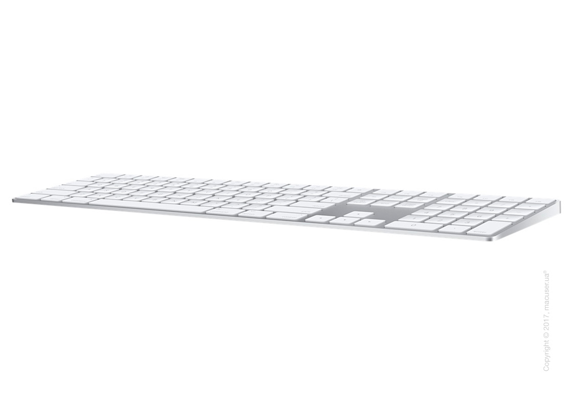 Apple Magic Keyboard with Numeric Keypad RUS – Silver New