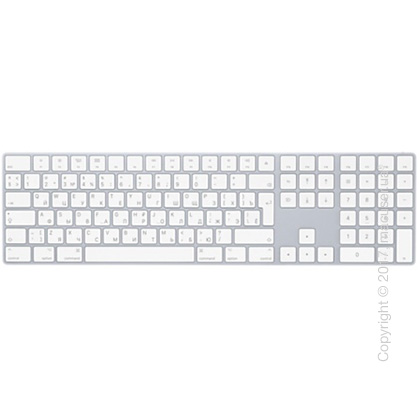 Apple Magic Keyboard with Numeric Keypad RUS – Silver