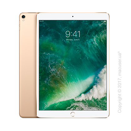 Apple iPad Pro 10,5 дюйма Wi-Fi 512GB, Gold