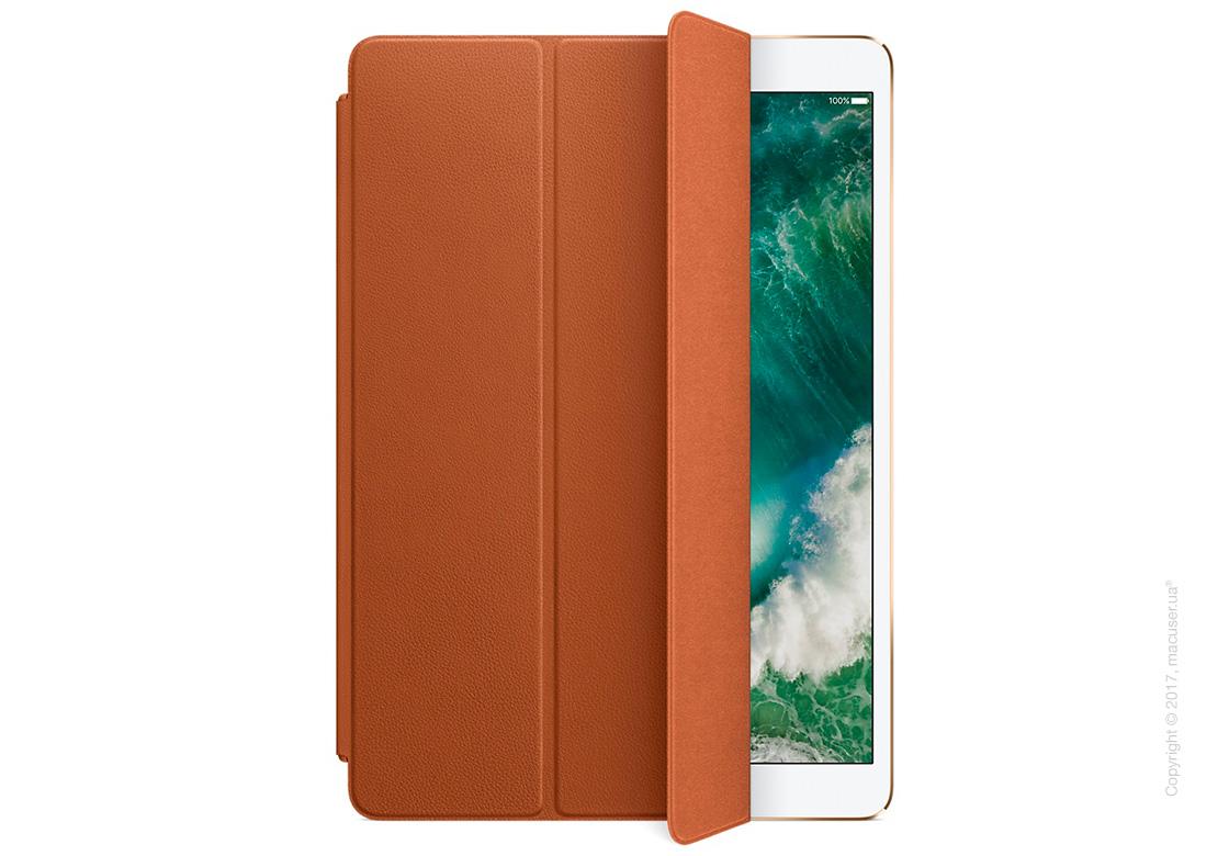 Чехол Кожаный Smart Cover, Saddle Brown для iPad Pro 10,5