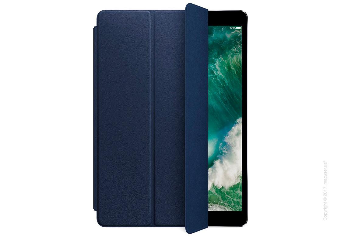 Чехол Кожаный Smart Cover, Midnight Blue для iPad Pro 10,5