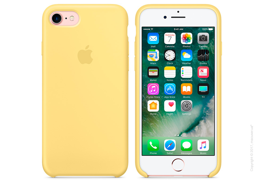 Чехол Apple iPhone 8/7 Silicone Case, Pollen