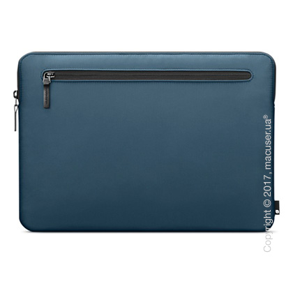 Чехол Incase Nylon Compact Sleeve для MacBook Pro - Thunderbolt 3 (USB-C)/Thunderbolt 2, Marine Blue