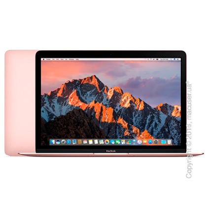 Apple MacBook 12 Retina Rose Gold Z0U40000N New