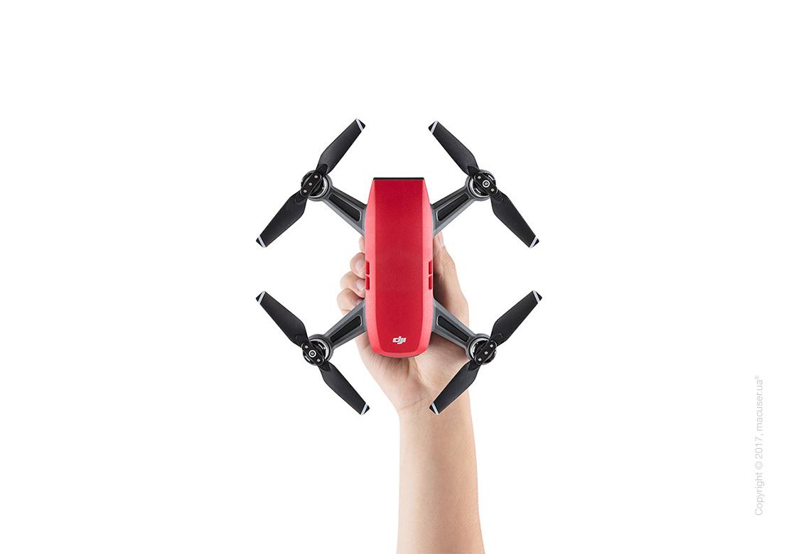 Квадрокоптер DJI Spark Lava Red Fly More Combo