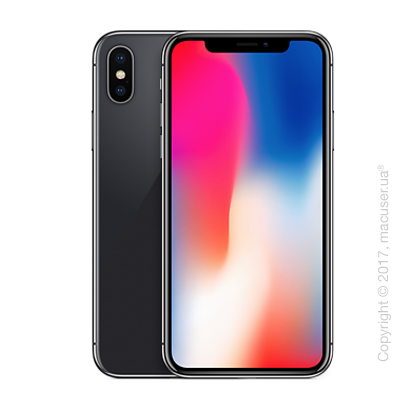 iPhone X 64GB, Space Gray