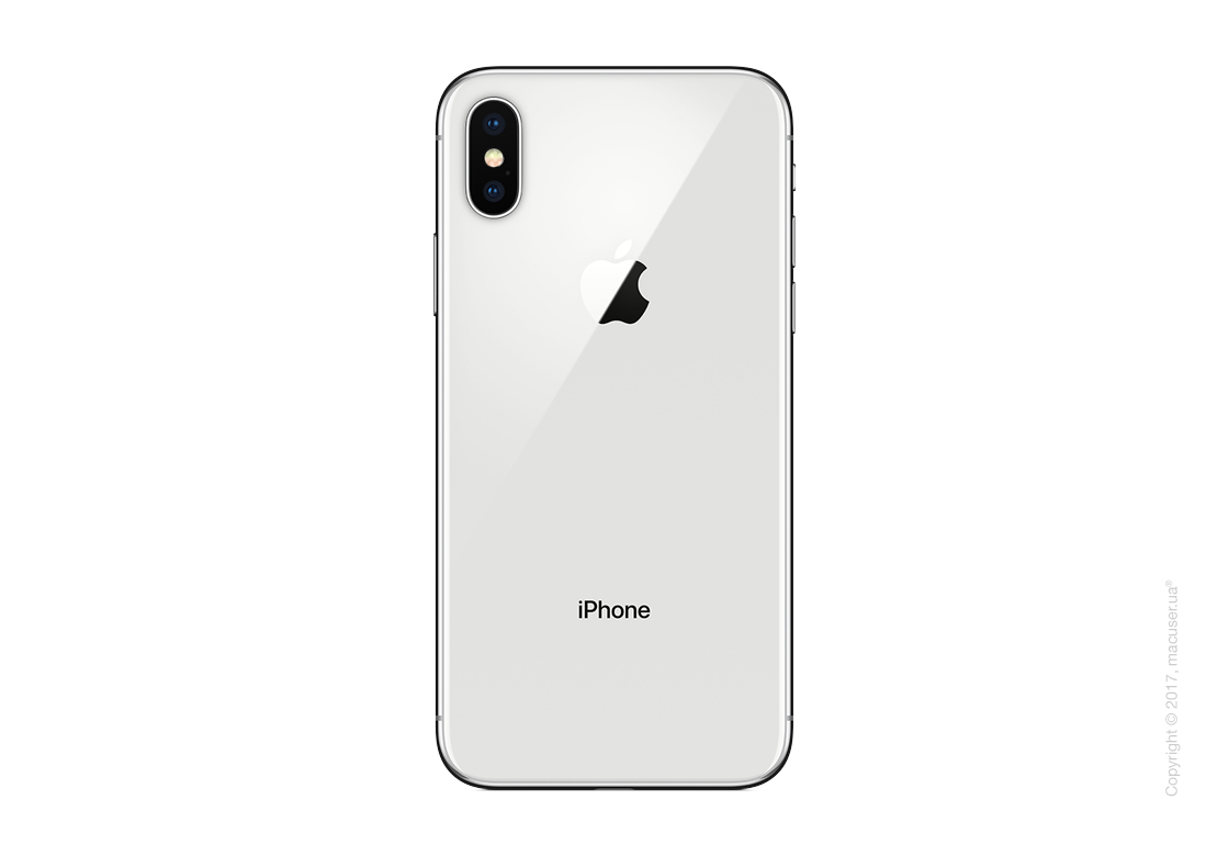 Apple iPhone X 64GB, Silver