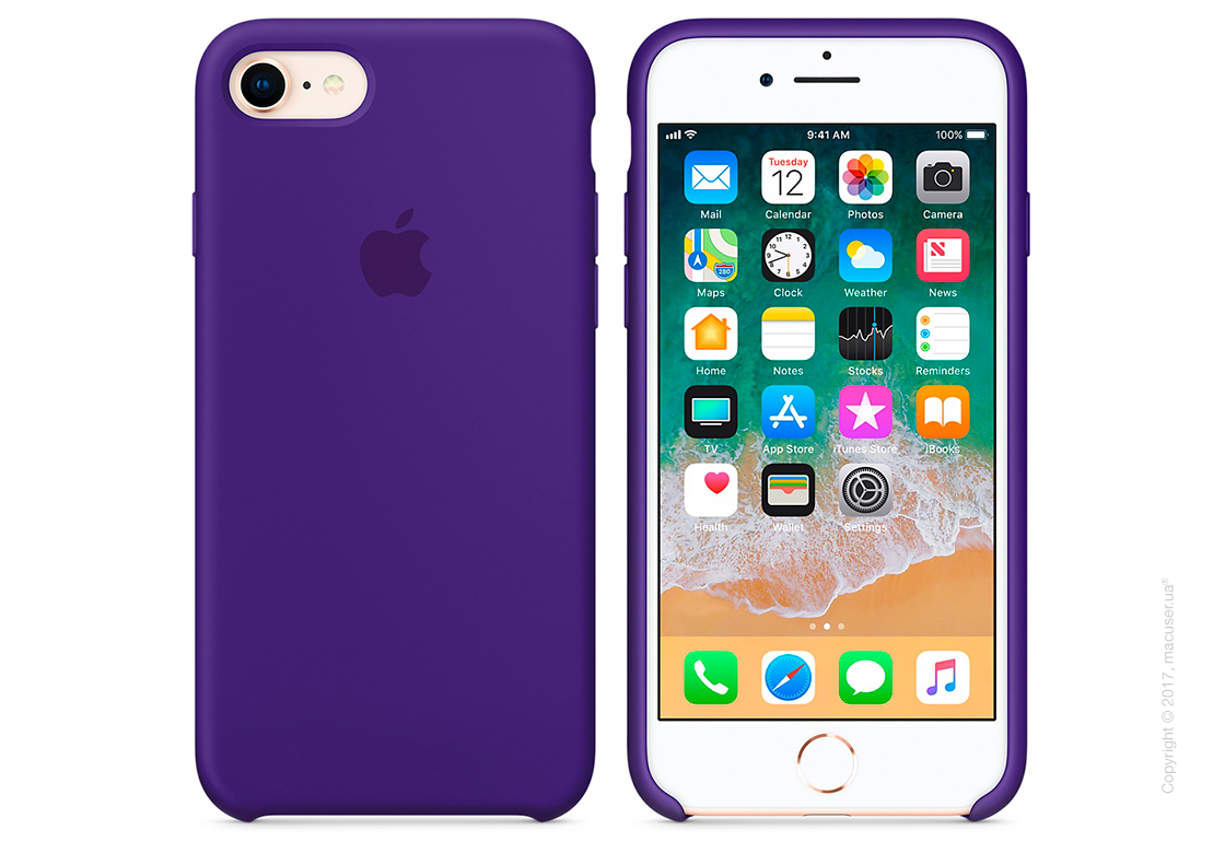 Чехол Apple iPhone 8/7 Silicone Case, Ultra Violet