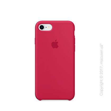 Чехол Apple iPhone 8/7 Silicone Case, Rose Red