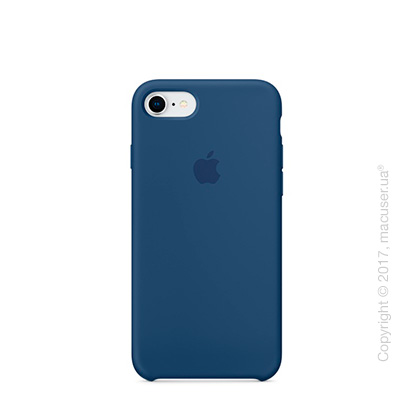 Чехол Apple iPhone 8/7 Silicone Case, Blue Cobalt