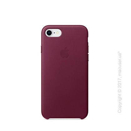 Чехол Apple iPhone 8/7 Leather Case, Pink Fuchsia