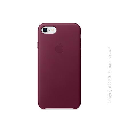 Чехол Apple iPhone 8/7 Leather Case, Pink Fuchsia