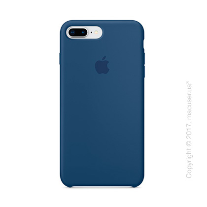 Чехол Apple iPhone 8 Plus/7 Plus Silicone Case, Blue Cobalt