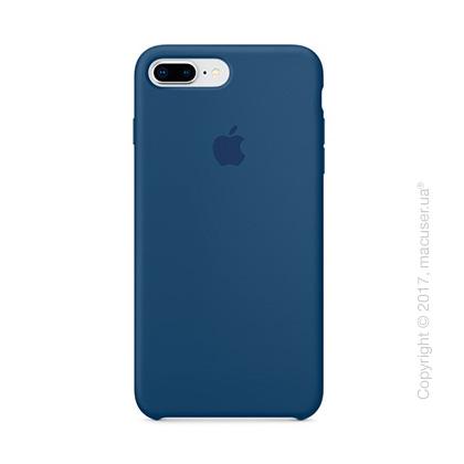 Чехол Apple iPhone 8 Plus/7 Plus Silicone Case, Blue Cobalt