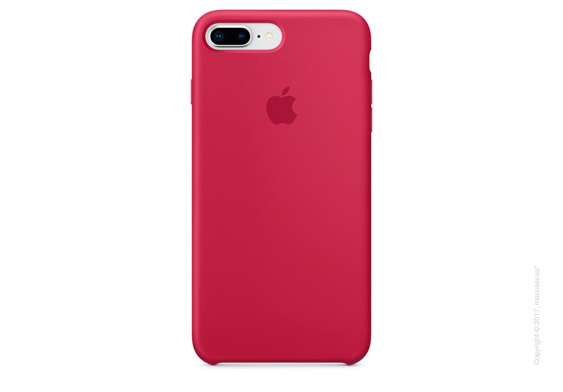 Чехол Apple iPhone 7 Plus/8 Plus Silicone Case, Rose Red