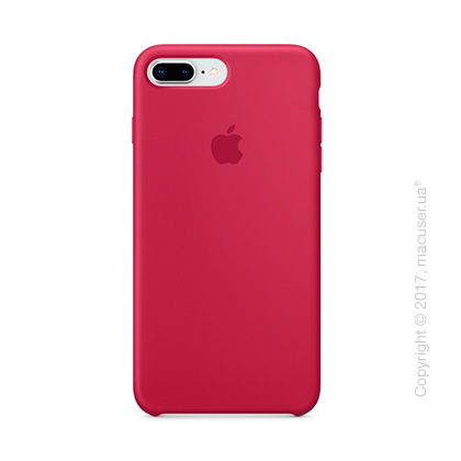 Чехол Apple iPhone 8 Plus/7 Plus Silicone Case, Rose Red